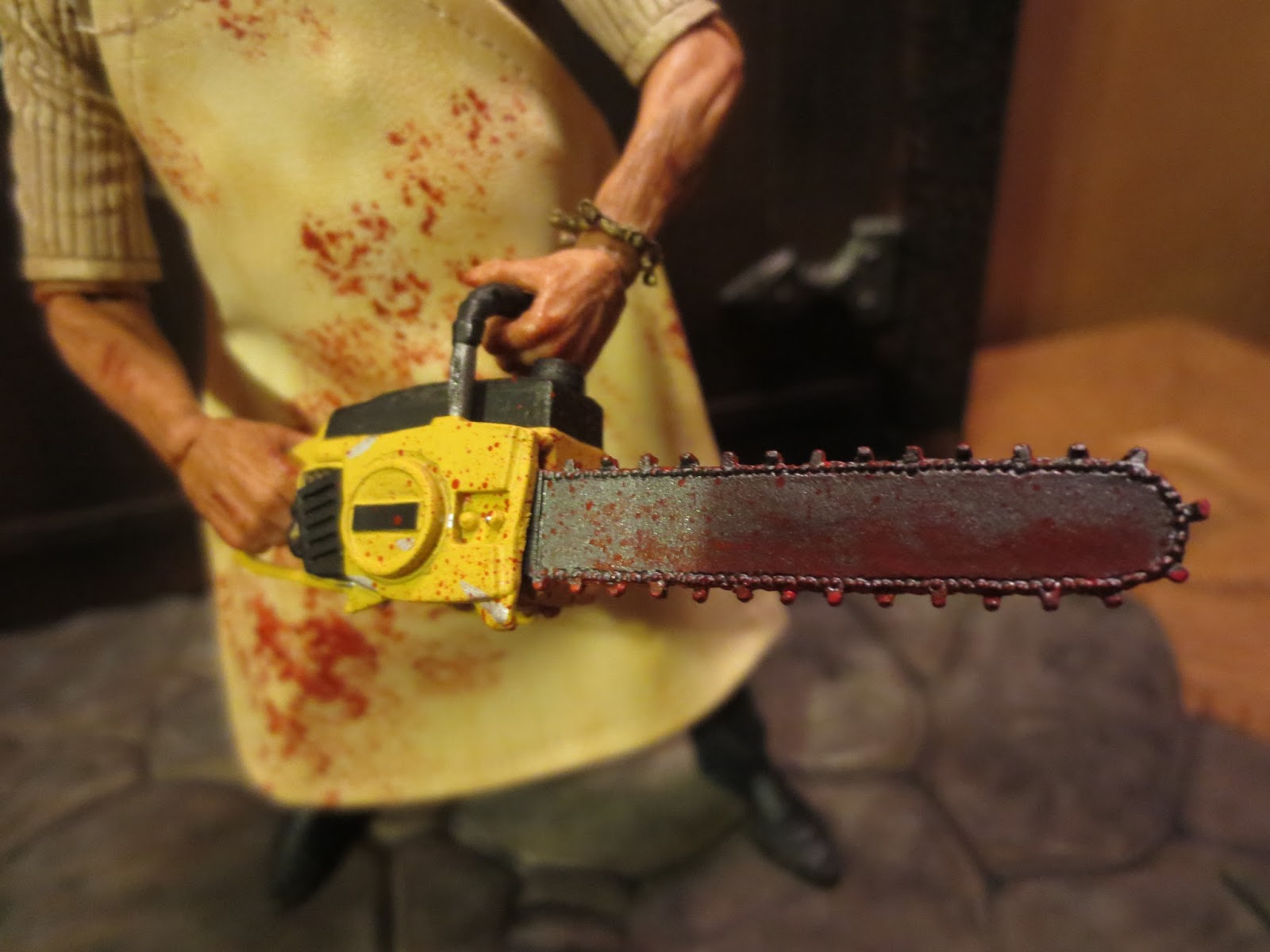 Bloody chainsaw